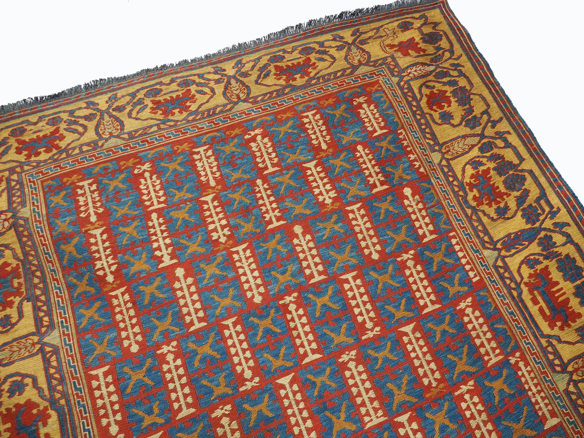 210x155 cm Caucasian Soumak Kilim Rug WL/E