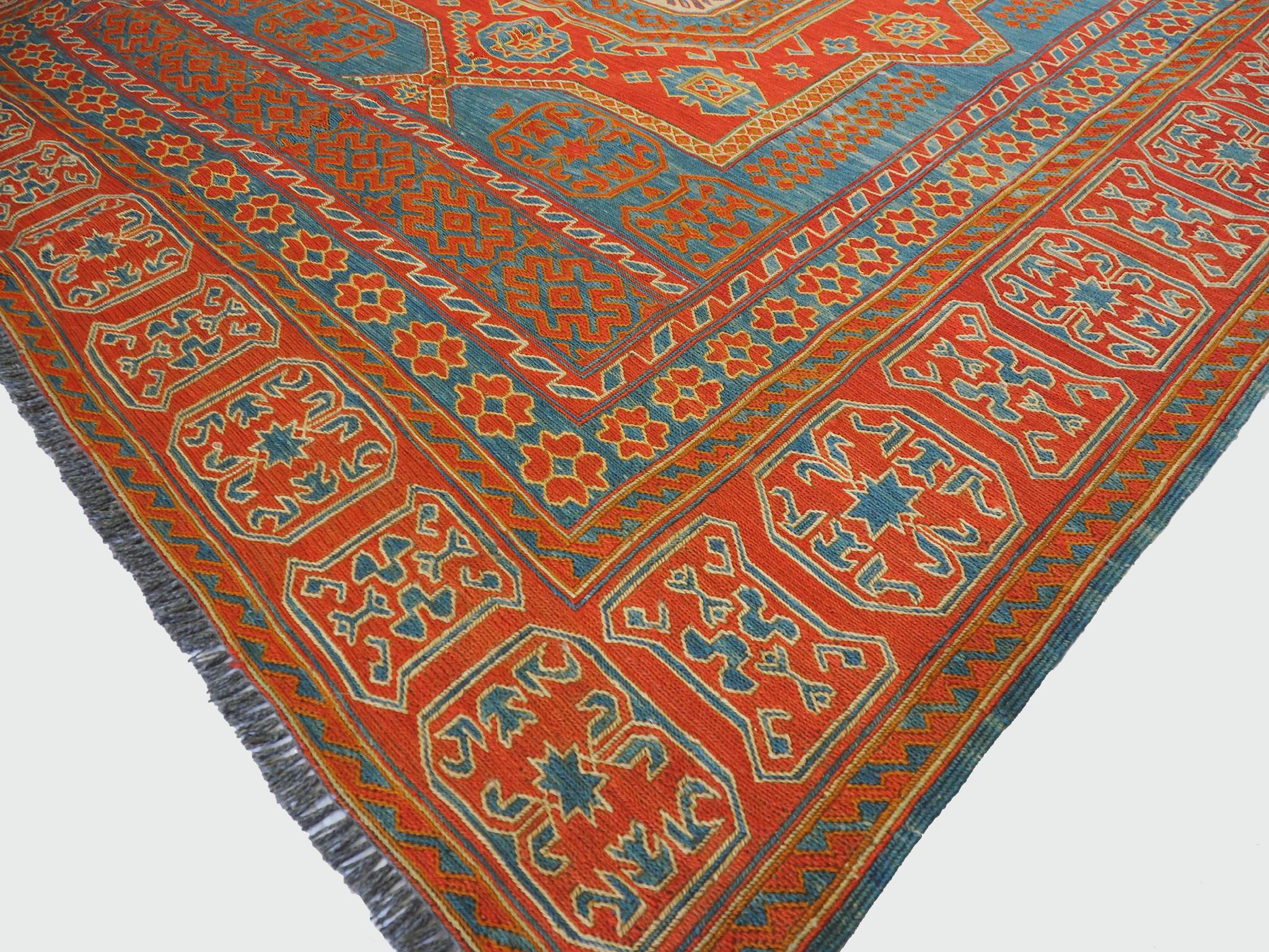245x150 cm Caucasian Soumak Kilim Rug WL/H