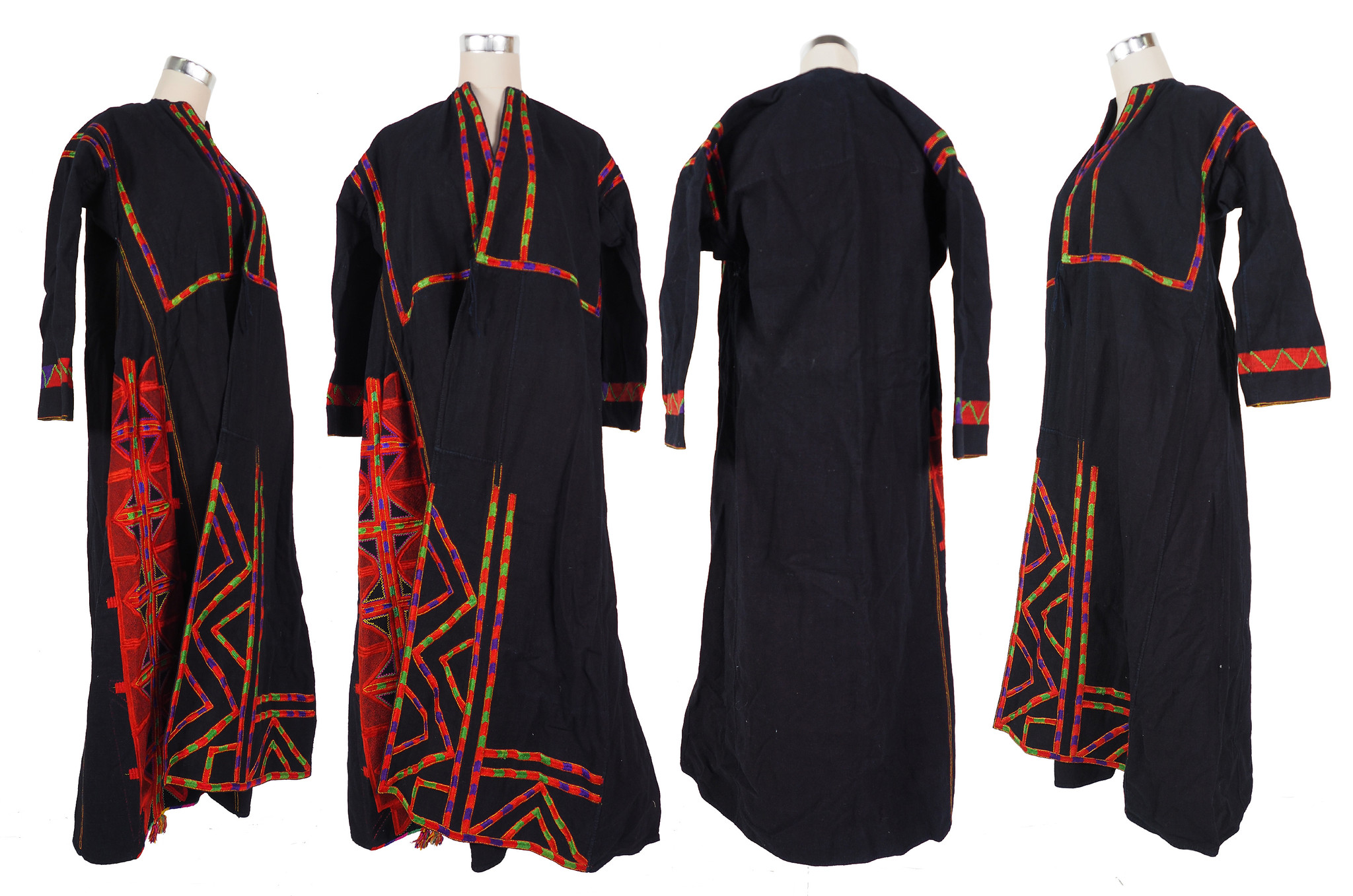 Palestinian girls embroidered ethnic dress No:25