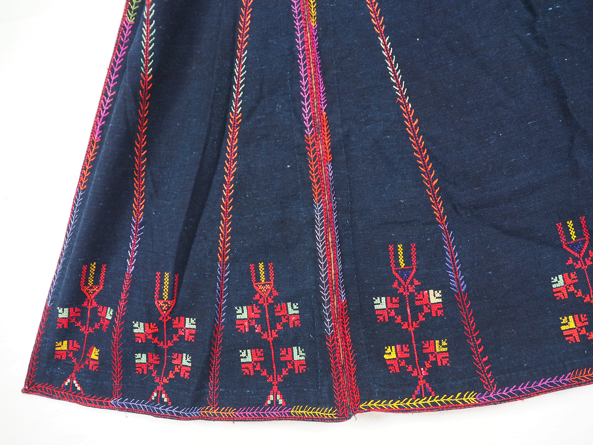 Palestinian girls embroidered ethnic dress No:22