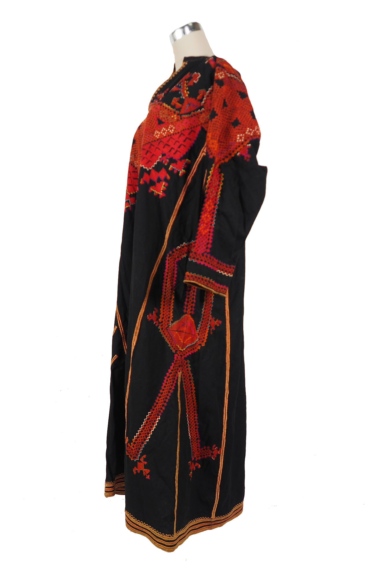 Palestinian girls embroidered ethnic dress No:27