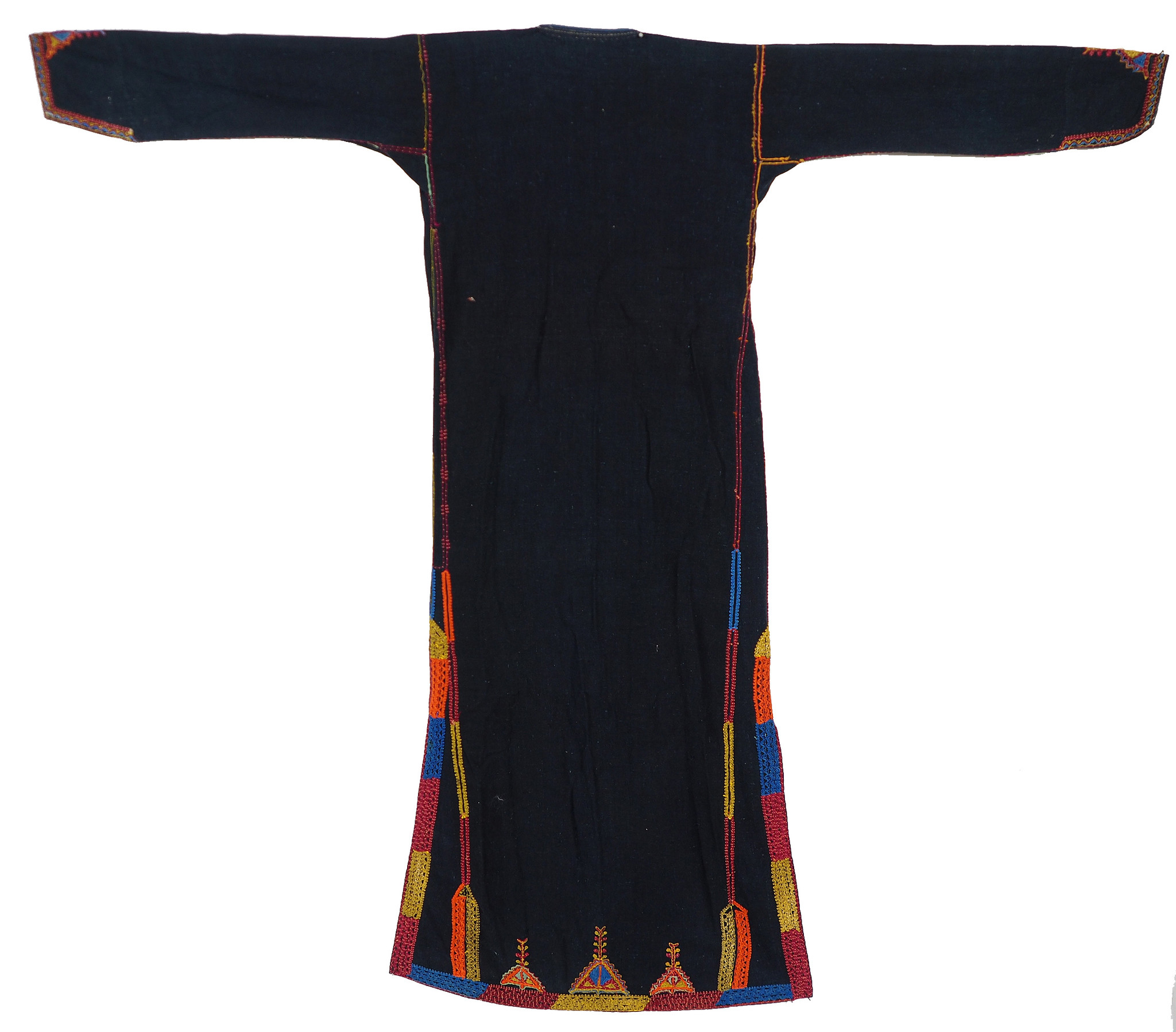 Palestinian girls embroidered ethnic dress No:17