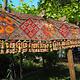 320x58 cm antike handbestickte indische mitgift hochzeit Zierband indien bestickte Toran-Wandbehang Toran No:B