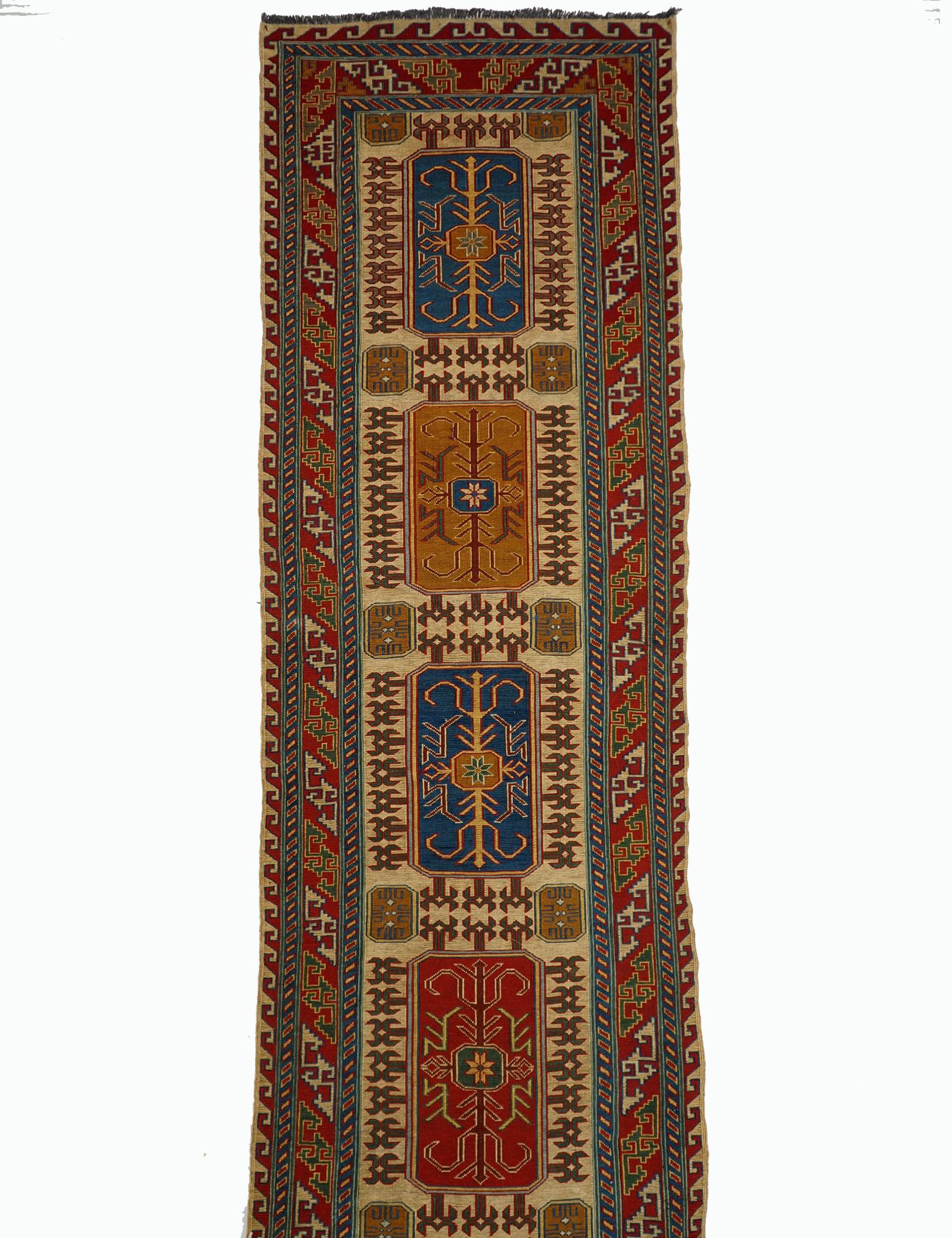 390x78 cm orient handgewebte kaukasisch Teppich Nomaden sumakh kelim teppich läufer galerie teppich Treppenteppich Nr-WL/L