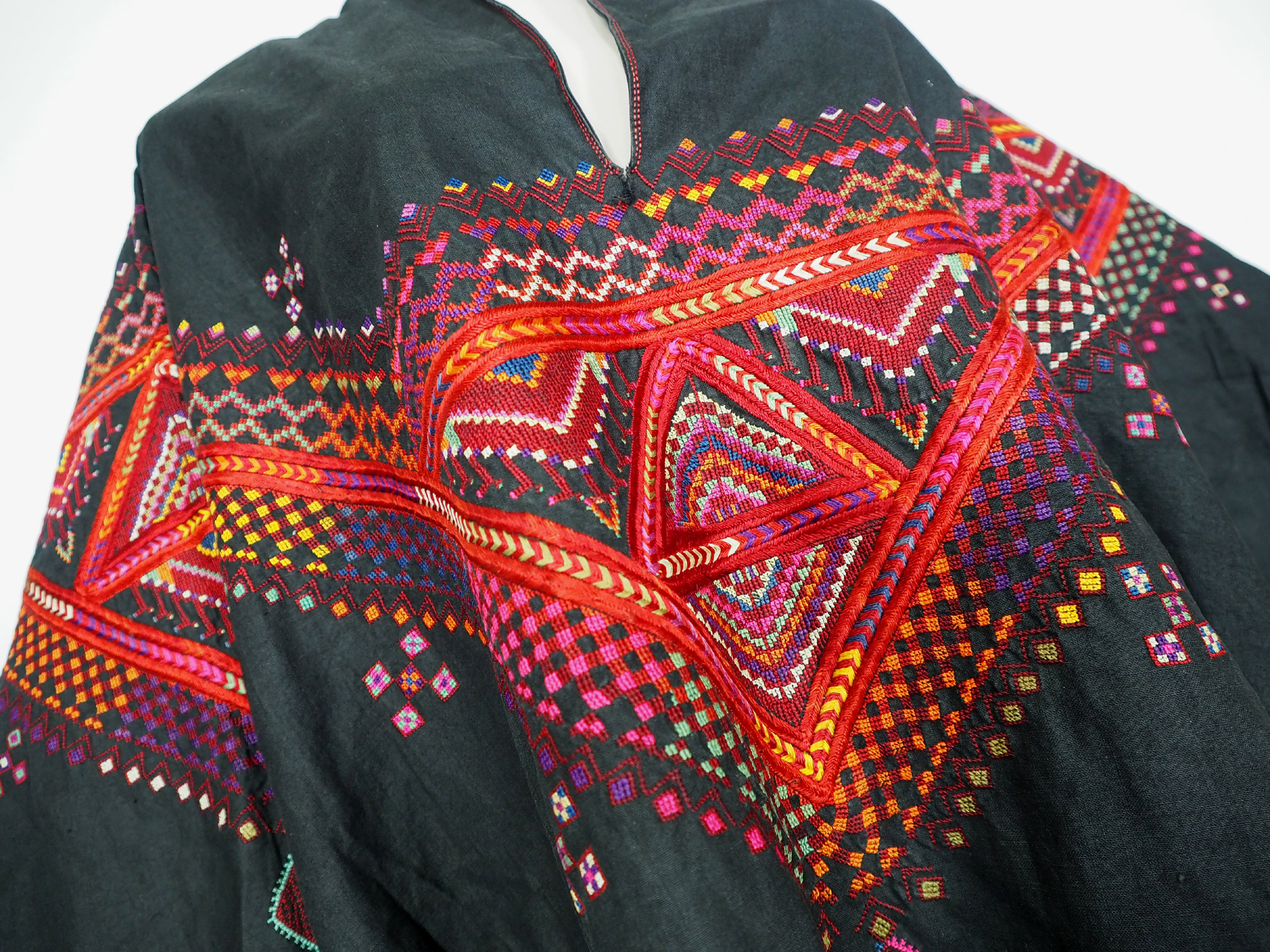 Palestinian girls embroidered ethnic dress No:26