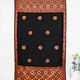 225x105 cm silk embroidered Pulkari  scarf, shawl, muffler Swat Valley 20/A