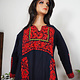 Palestinian girls embroidered ethnic dress No:7