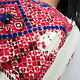Palestinian girls embroidered ethnic dress No:6