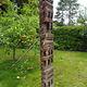 antique orient solid hand-carved wooden Pillar column from Nuristan Afghanistan antike Säule Nuristan Nr-B