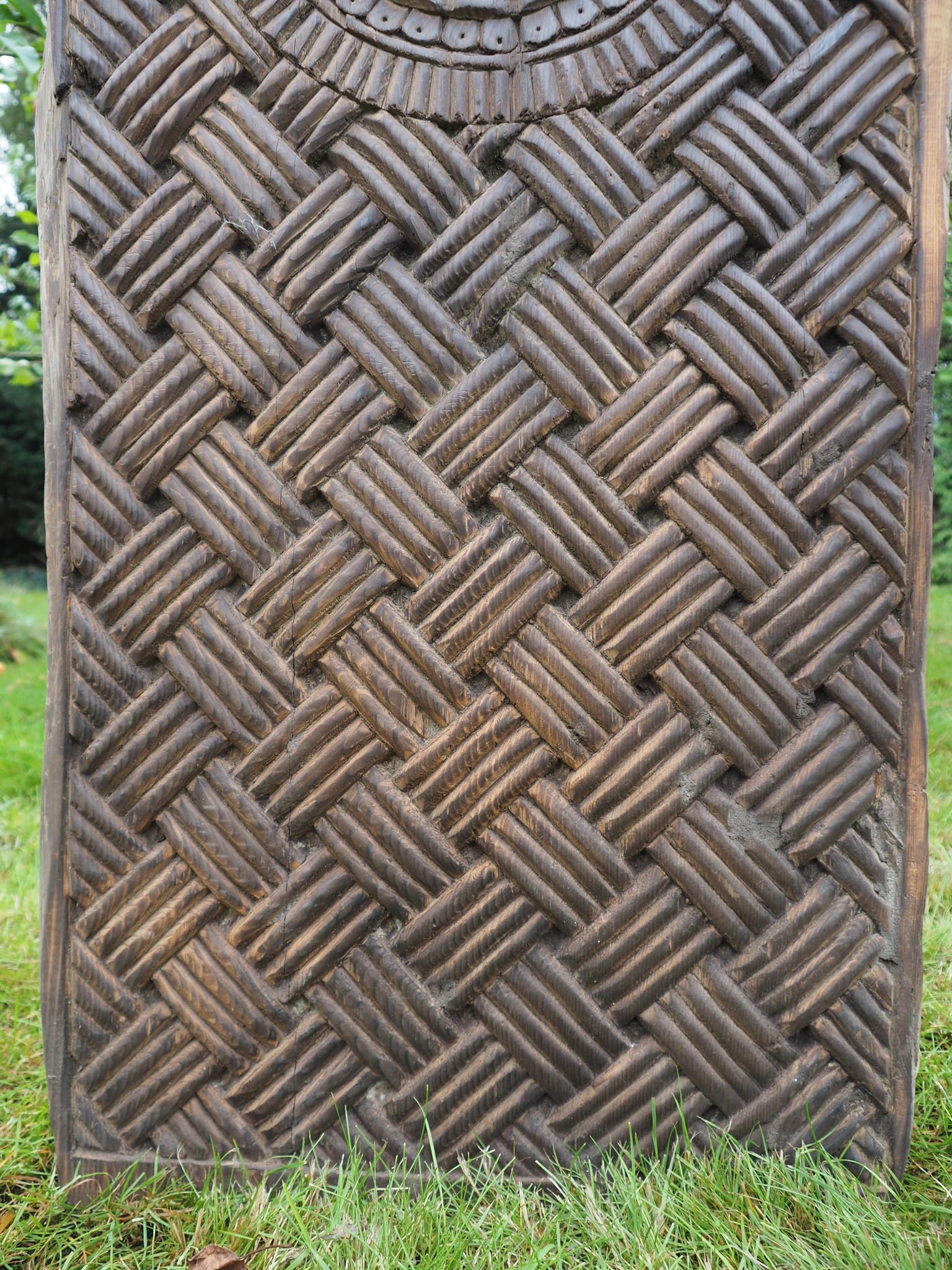 orient vintage carved wooden door panel Door from Nuristan Afghanistan Swat valley Pakistan 20/5