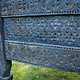 antique 19th century orient vintage cedar wood treasure Dowry Chest from Nuristan Afghanistan No:20/1