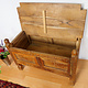 antique orient vintage cedar wood treasure Dowry Chest from Afghanistan Kabul istalif No:A