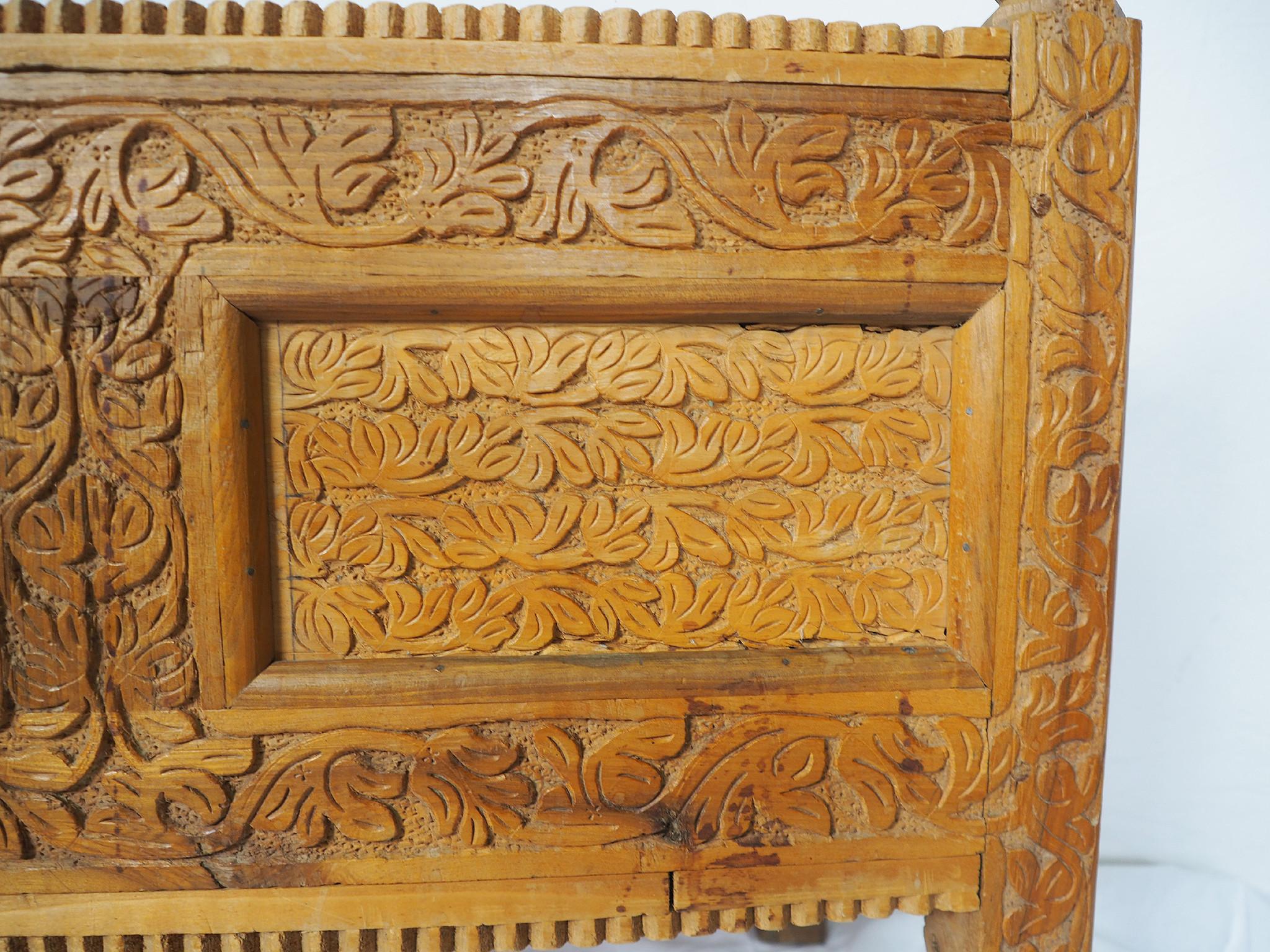 Antike orient Aussteuer Truhe  Afghanistan Kabul istalif No:B
