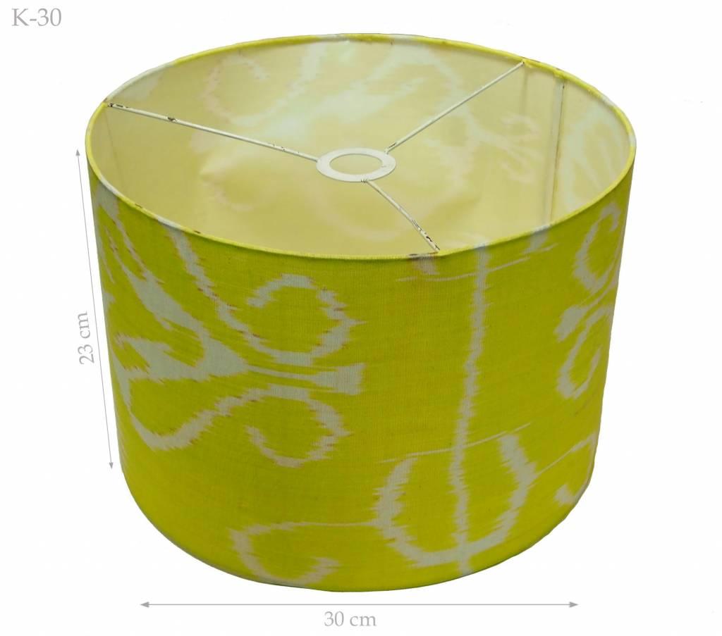 orient Uzbek Ikat stoff Schirm Lampenschirm lampshade Nr: K