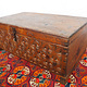 antique 19th century orient vintage cedar wood treasure Dowry Chest from Nuristan Afghanistan NO:20/ E