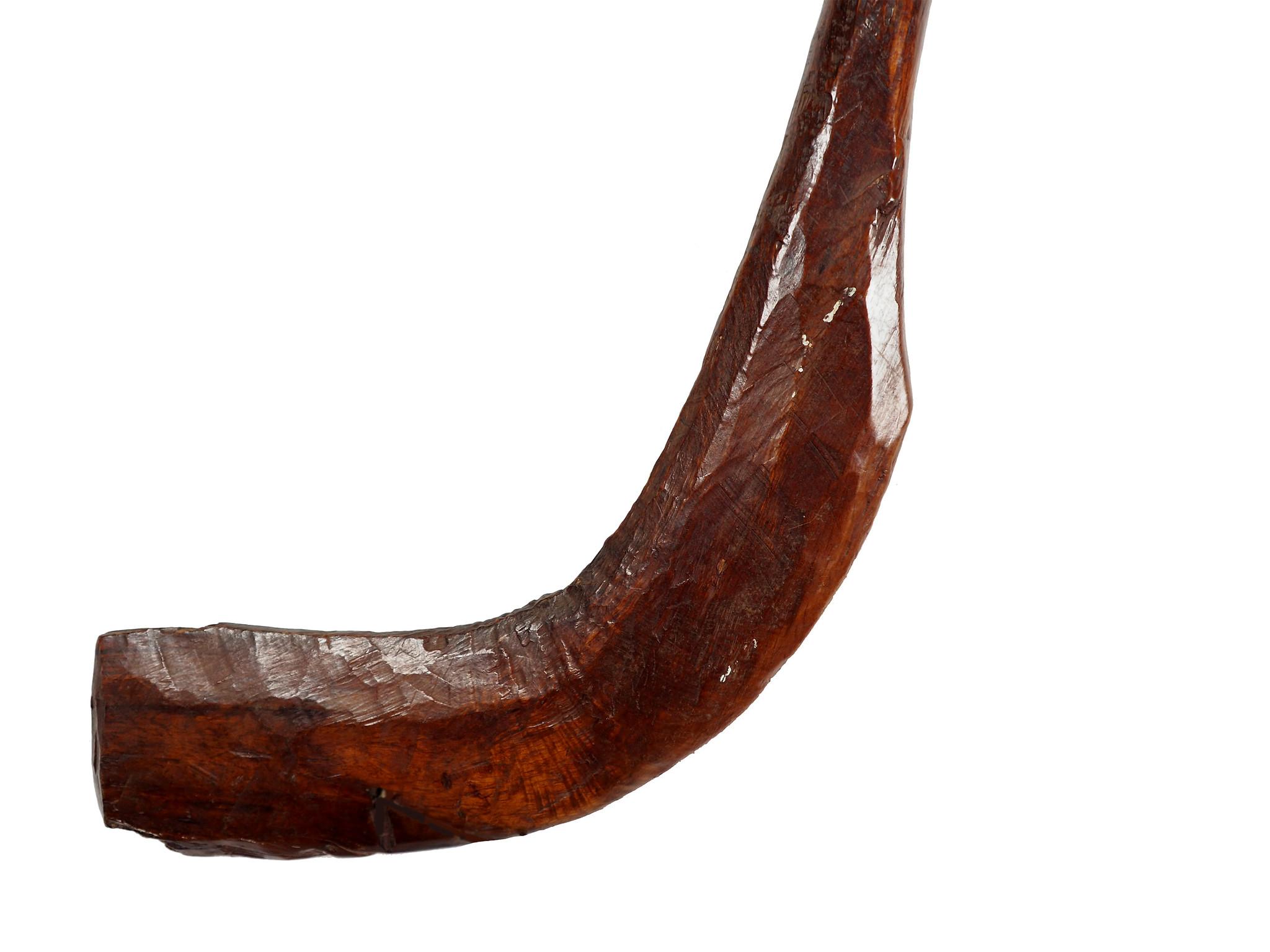 antique  cedar wood  Wheat Thresher weizen Drescher from Nuristan Afghanistan NO:20/B