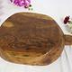 antik orient Holz Tablett teller Antique wooden tray india