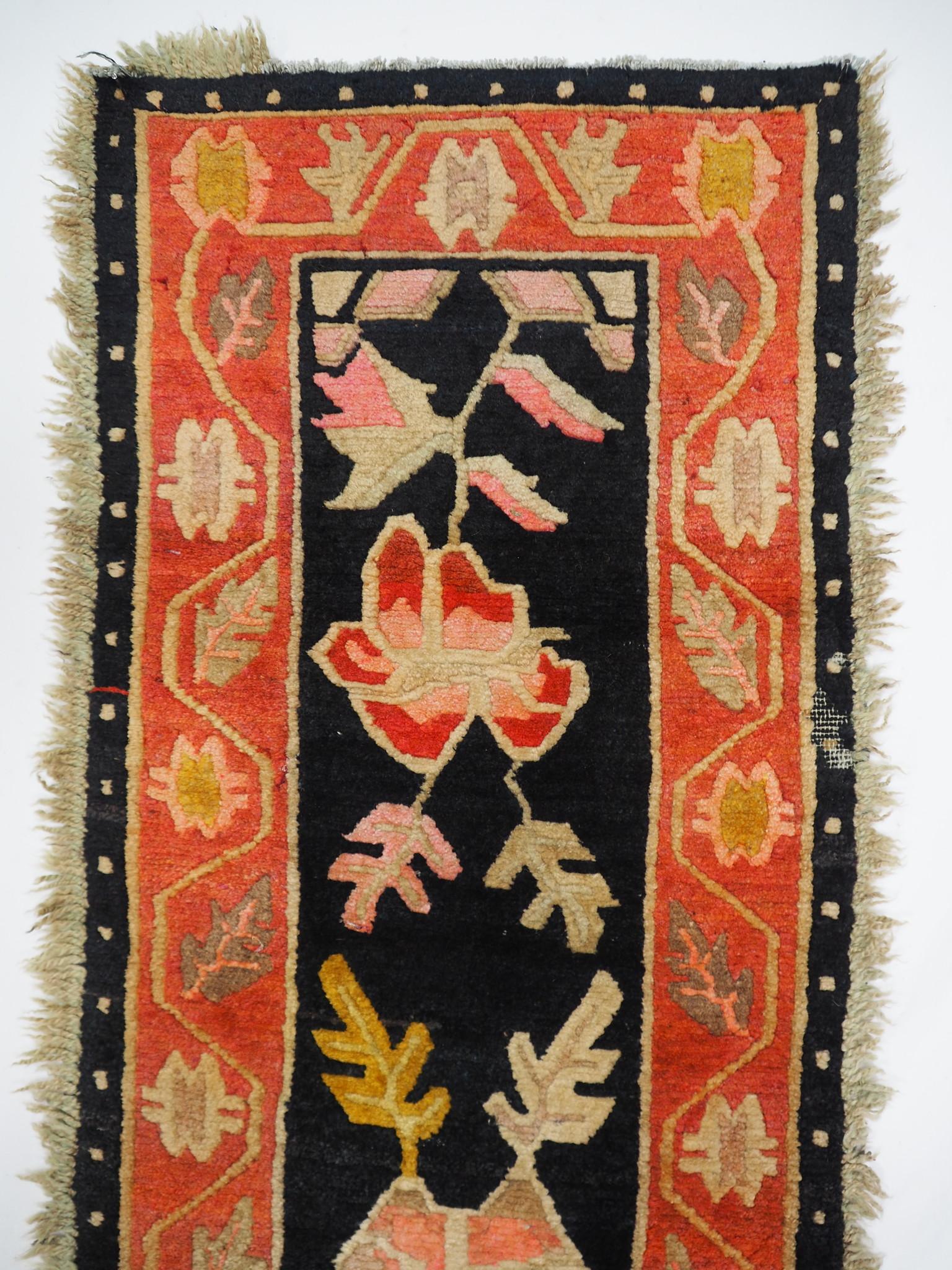 210x 50 cm antik Tibetischer Khaden Yoga Meditation Dorfteppich buddhistische Klöster gebetsteppich Teppich Schlafteppich Nr.24