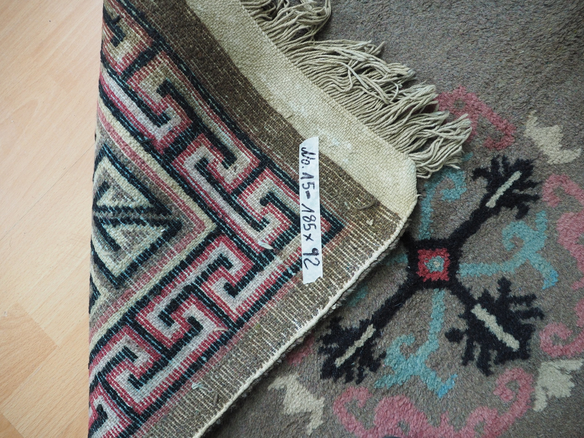 antik Tibetischer Khaden Yoga Meditation Dorfteppich buddhistische Klöster gebetsteppich Teppich Schlafteppich Nr.15
