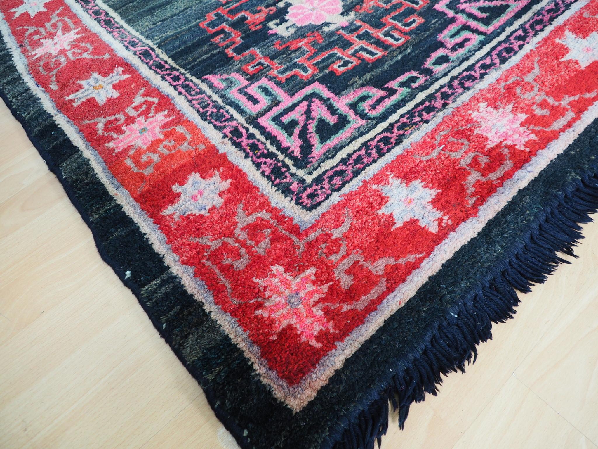 antik Tibetischer Khaden Yoga Meditation Dorfteppich buddhistische Klöster gebetsteppich Teppich Schlafteppich Nr.11