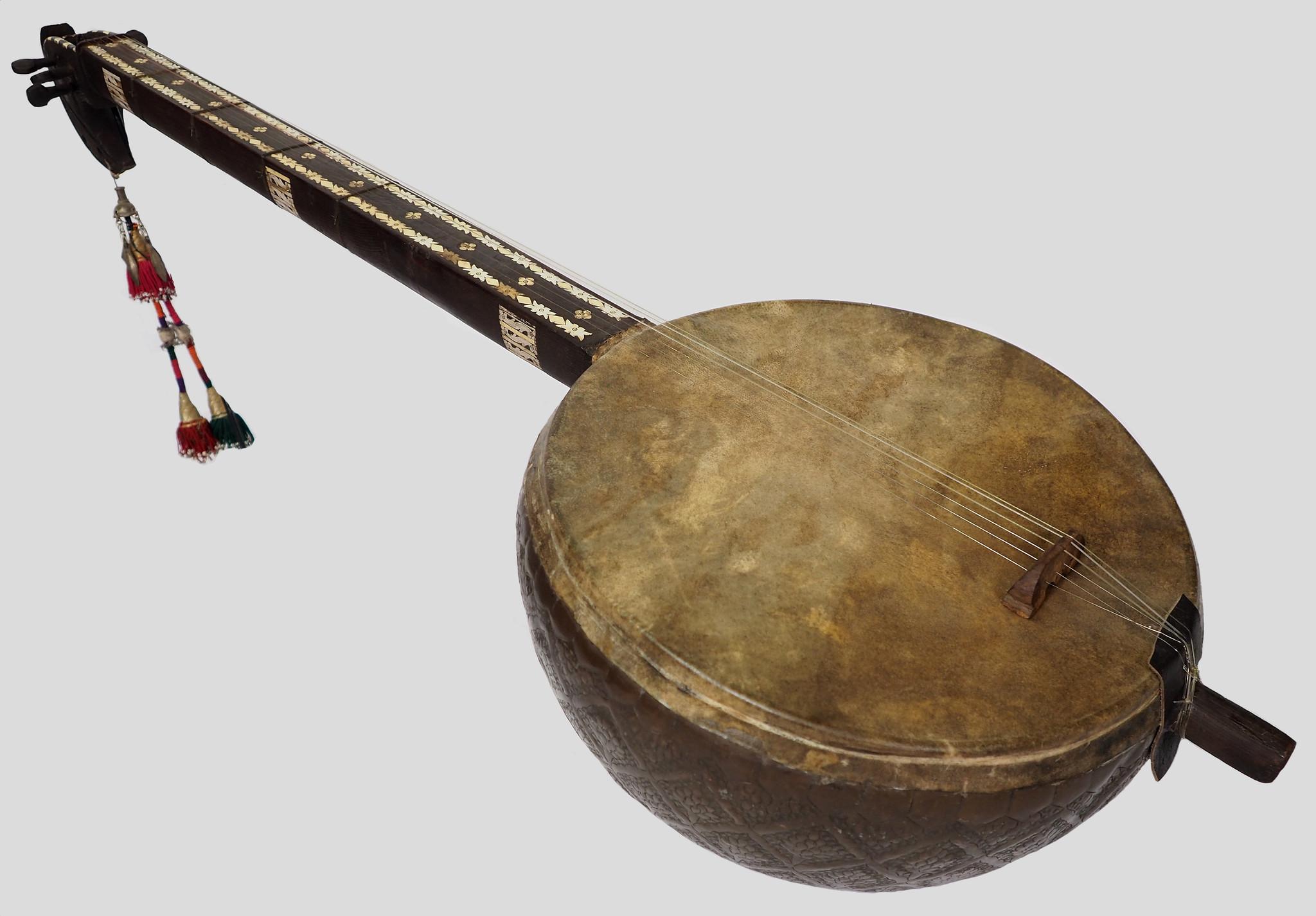 Antike Musikinstrument aus Afghanistan  17/3