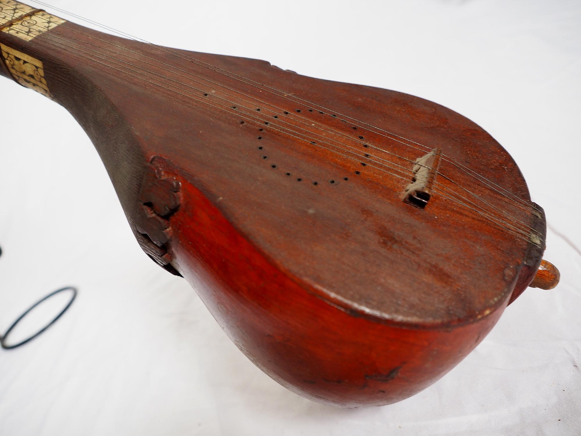Antike Tambura Musikinstrument aus Afghanistan  21/  D