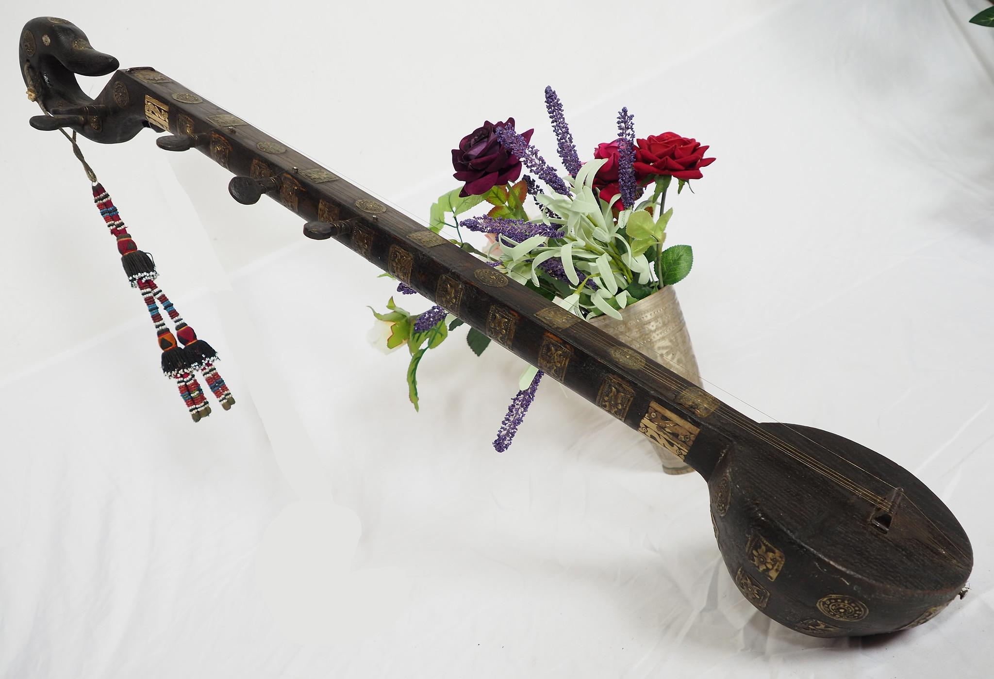 Antike Tambura Musikinstrument aus Afghanistan  21/ G