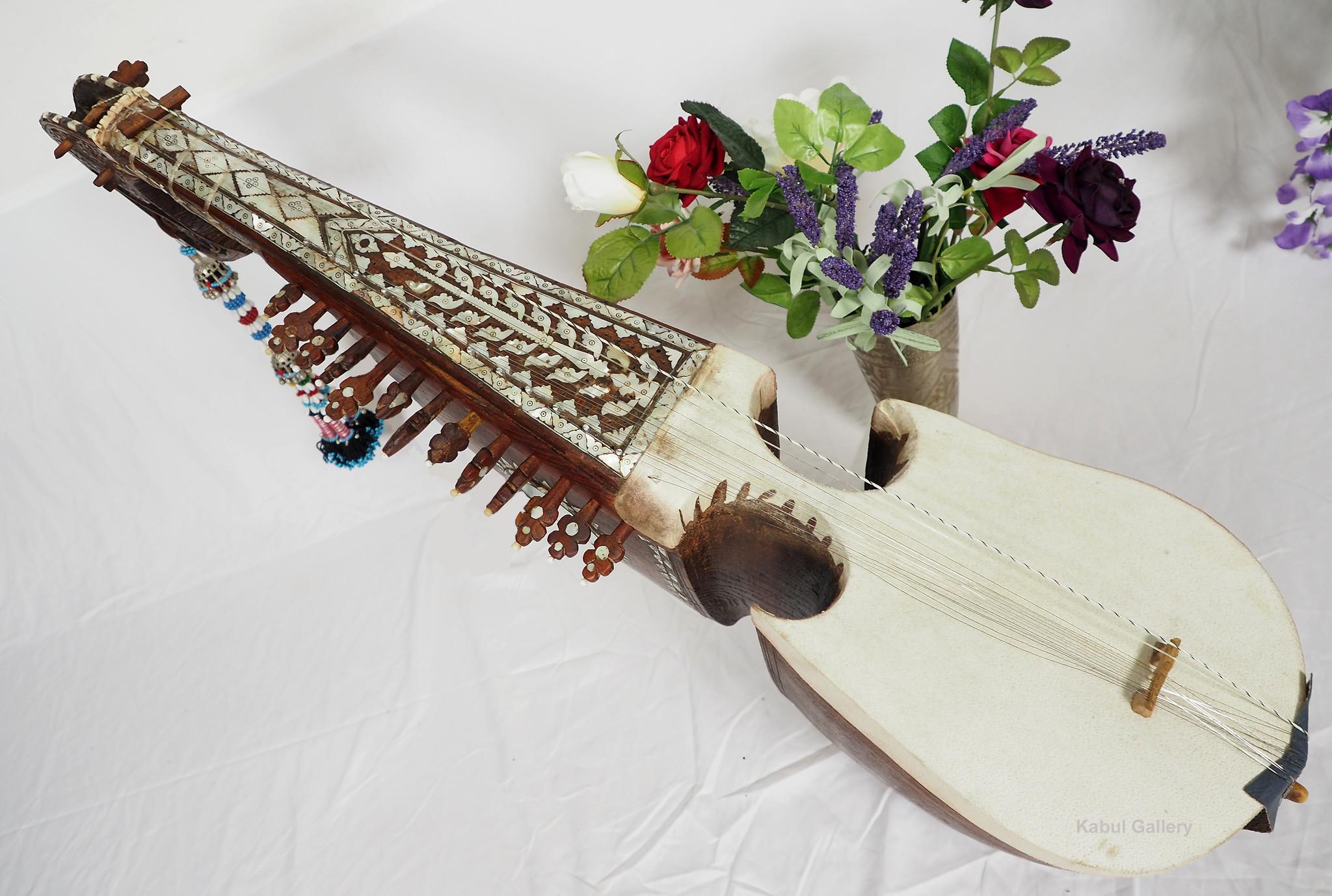Antik Afghan musikinstrumen Bubab Nr-21k