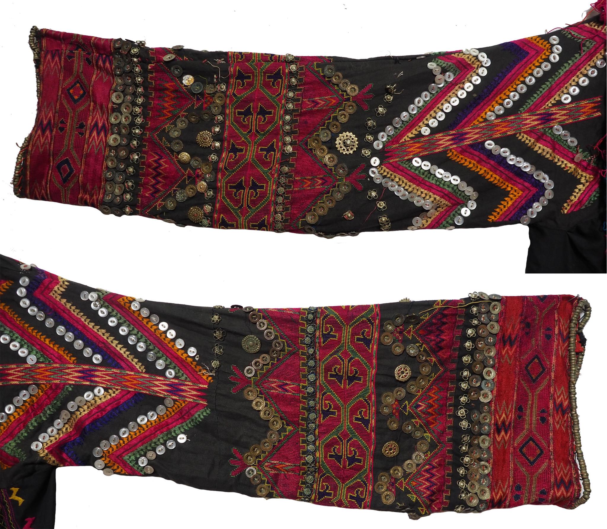 antik Frauen Hochzeit Kleid  aus Afghanistan Nuristan kohistan Jumlo Nr-21/7