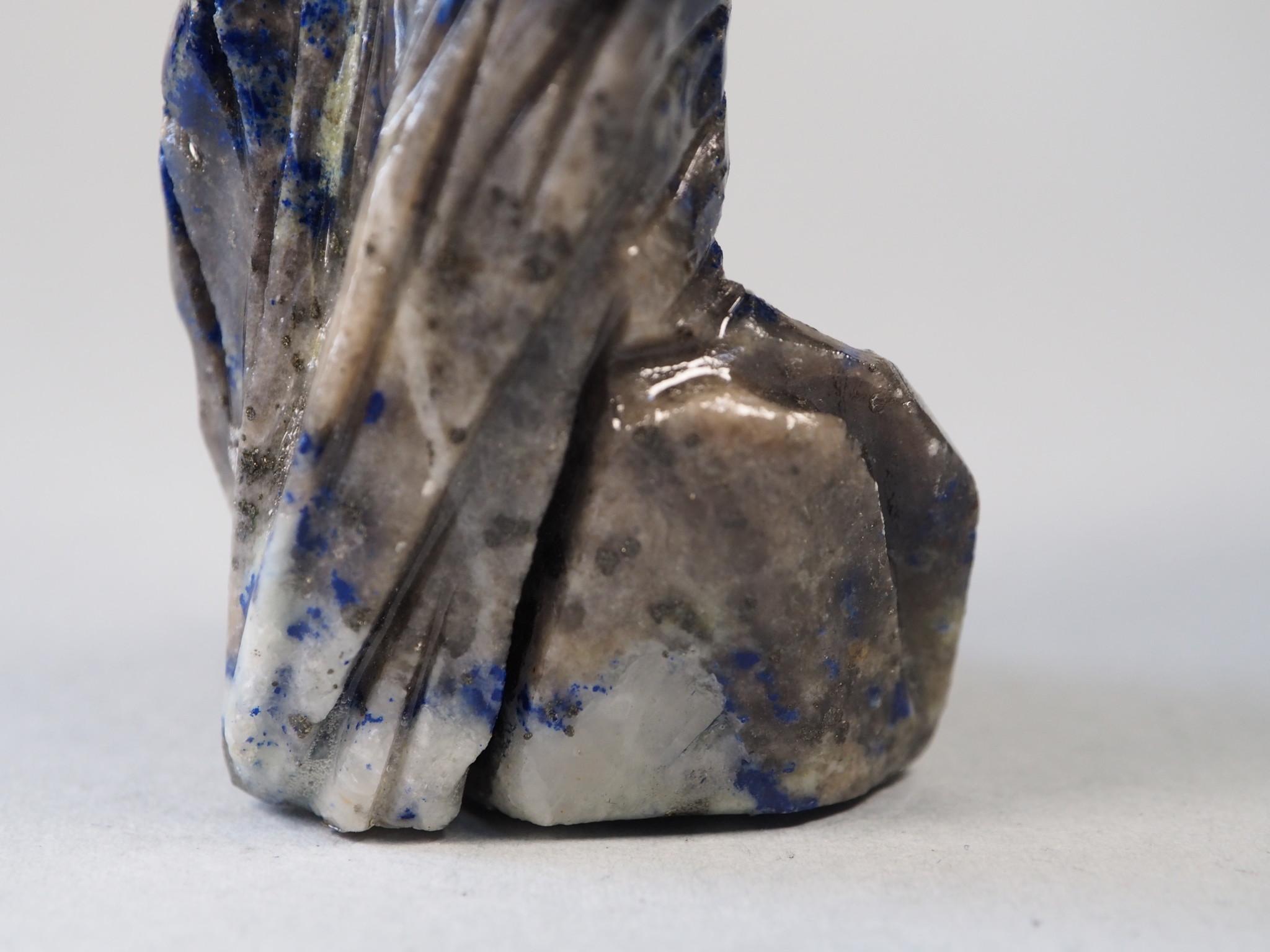 Extravagant Royal blau Lapis lazuli  tier figur briefbeschwere Adler Nr:21/8