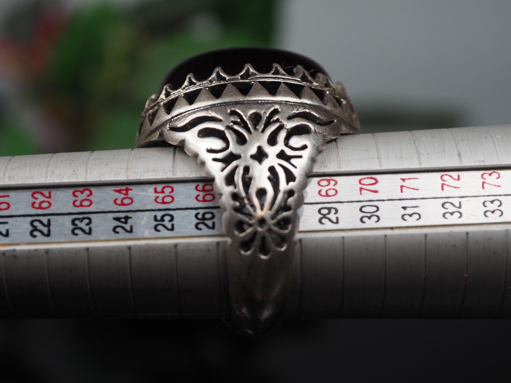 antique handmade Silver Carnelian stone turkmen statement AQEEQ ring from Afghanistan No:WL21/24