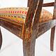 A Qajar (khatamkari technique)  chair Persia, 19th Century No: A