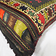antique very rare Balochi nomadic carpet cushion orient nomad rug seat Bohemian Afghanistan pillow 21/2