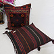 antique very rare Balochi nomadic carpet cushion orient nomad rug seat Bohemian Afghanistan pillow 21/4