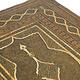 Antik islamische Khatamkari Spiegel 21A