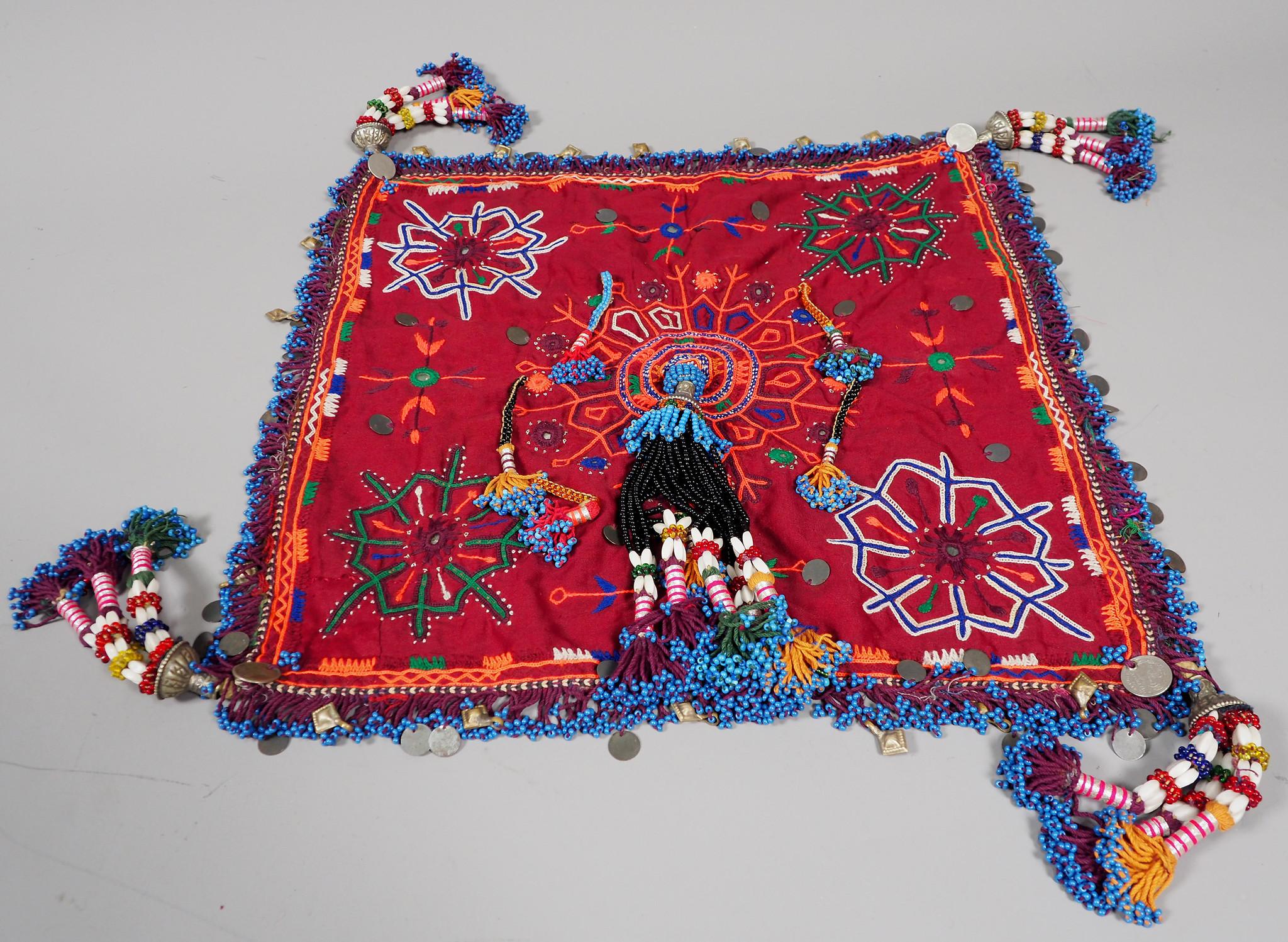 antik banjara bräutigam Hochzeit kopfschmuck kopfbdekung aus sindh Pakistan . No:21/ 5