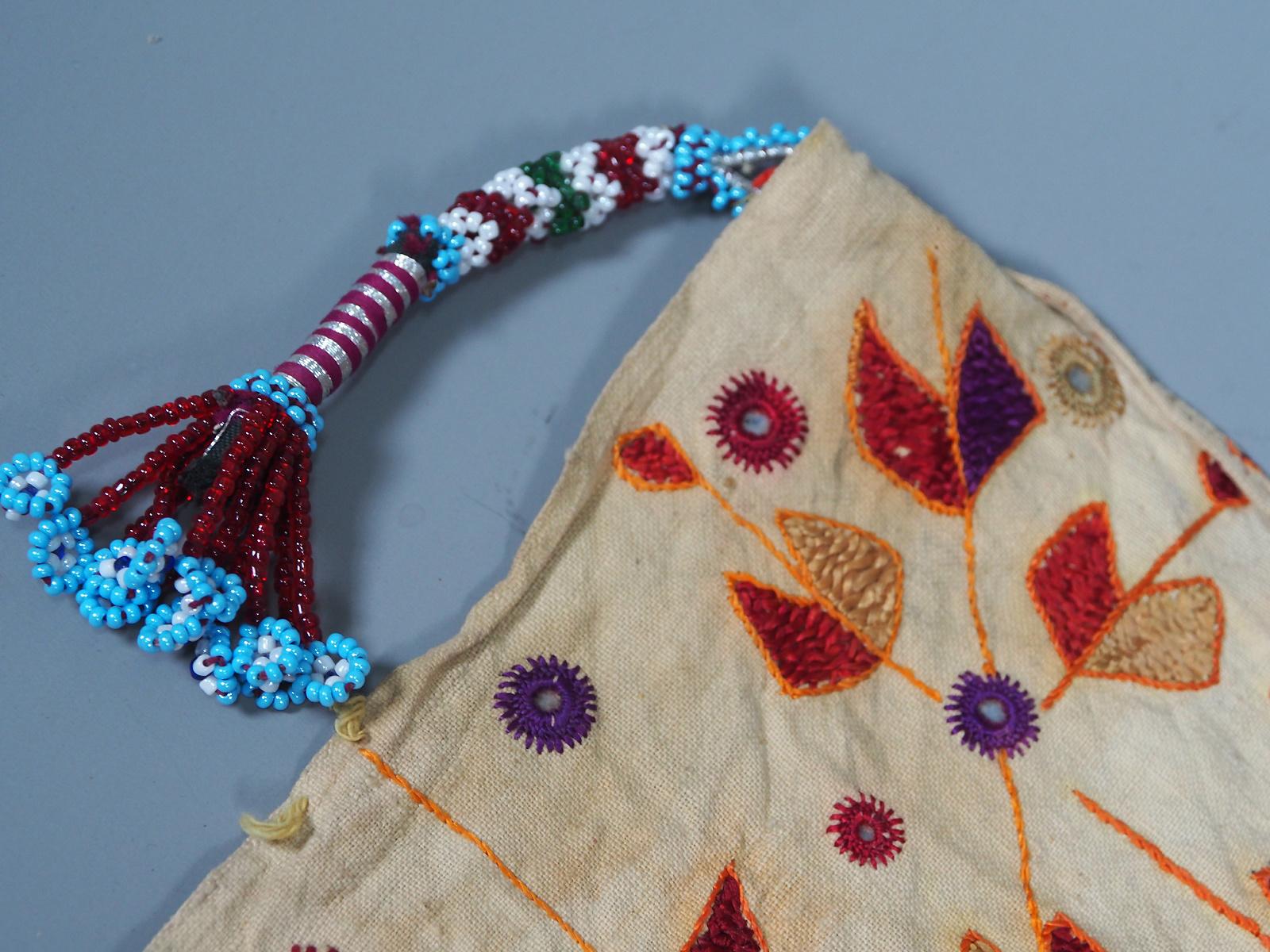 hand embroidered banjara groom wedding headdress Sindh Pakistan. No:21/ 6