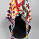hand embroidered banjara groom wedding headdress Sindh Pakistan. No:21/7