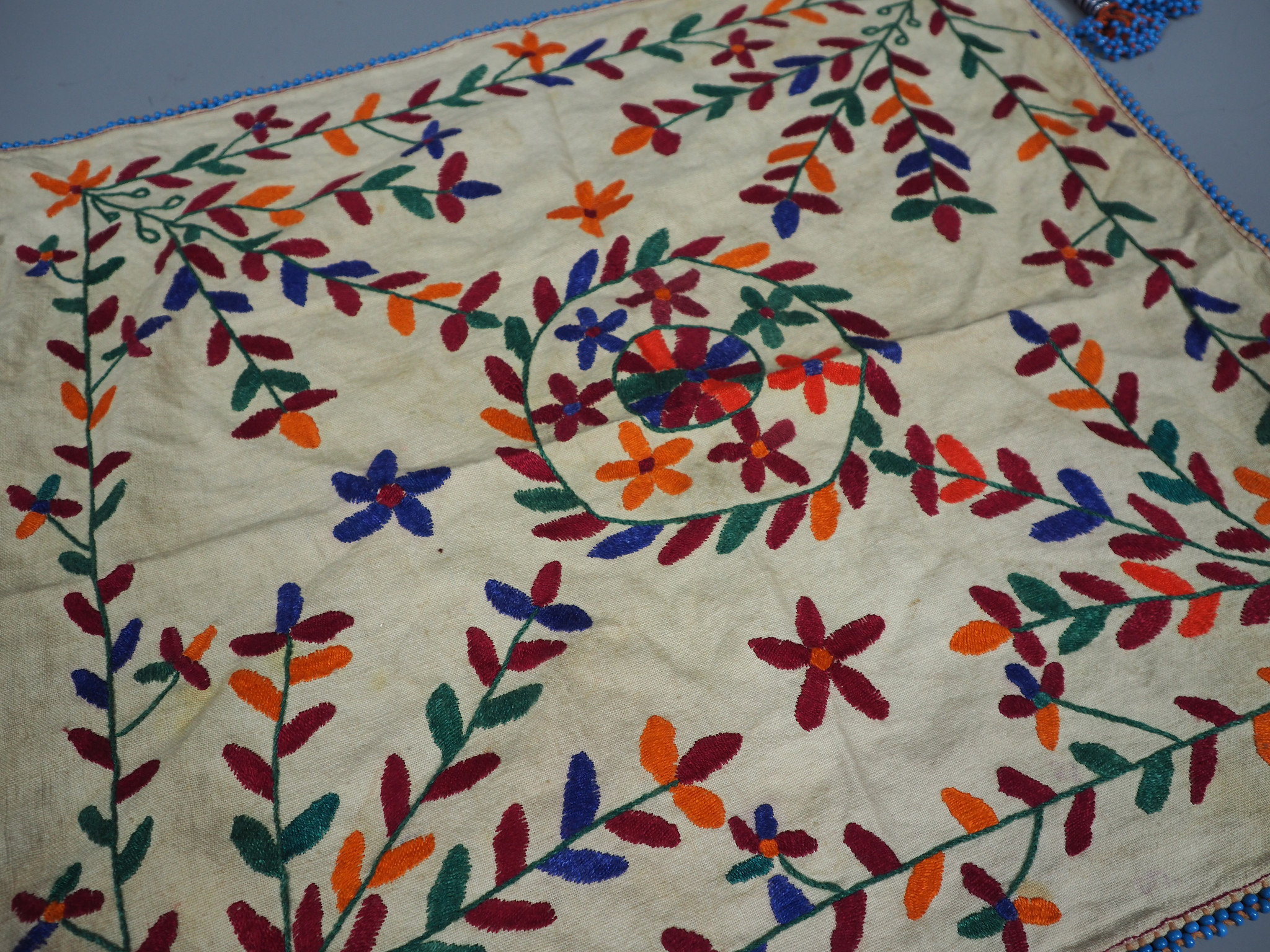 hand embroidered banjara groom wedding headdress Sindh Pakistan. No:21/ 9