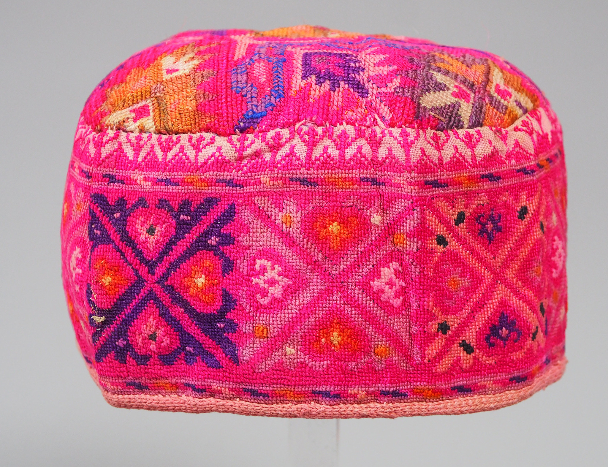 hand embroidered Women's Caps and Ceremonial Headdress from Gilgit-Baltistan No:21/B