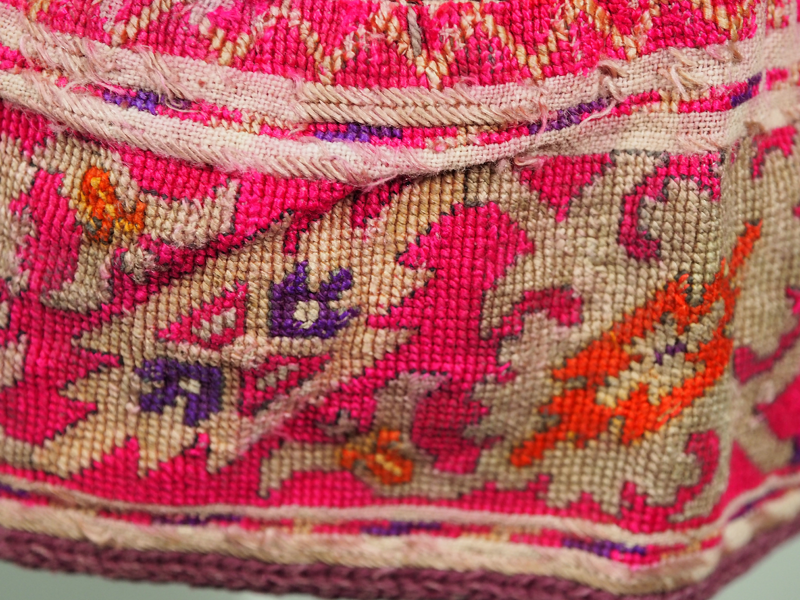 hand embroidered Women's Caps and Ceremonial Headdress from Gilgit-Baltistan No:21/ E