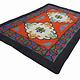 245x163 cm  tribal Nomadic Turkmen nomads Vintage felt rug rug from Afghanistan feltrug carpet shyrdak No-699