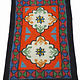 245x163 cm orient handgewebte Teppich Nomaden handgearbeitete Turkmenische nomanden Jurten Filzteppich Filz aus Nor Afghanistan shyrdak N699
