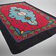 250x174 cm  tribal Nomadic Turkmen nomads Vintage felt rug rug from Afghanistan feltrug carpet shyrdak No-698