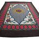 331x200 cm  tribal Nomadic Turkmen nomads Vintage felt rug rug from Afghanistan feltrug carpet shyrdak No-706