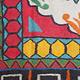 293x214 cm  tribal Nomadic Turkmen nomads Vintage felt rug rug from Afghanistan feltrug carpet shyrdak No-702