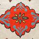 253x199 cm  tribal Nomadic Turkmen nomads Vintage felt rug rug from Afghanistan feltrug carpet shyrdak No-705