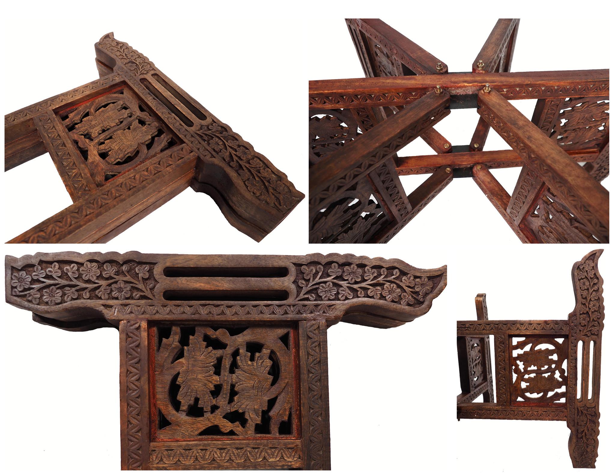 60 Ø osmanisch ägyptisch Mamluk Cairoware orient Messing tablett Teetisch beisteltisch Afghanistan syrien arabische kalligraphie 21/E
