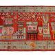 252x146 cm originell Antik Khotan Samarkand orientteppich Teppich Chinese Turkestan handgeküpft No:21/41