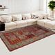 252x146 cm original antique Khotan Samarkand rug Chinese Turkestan hand knotted carpet No:21/41